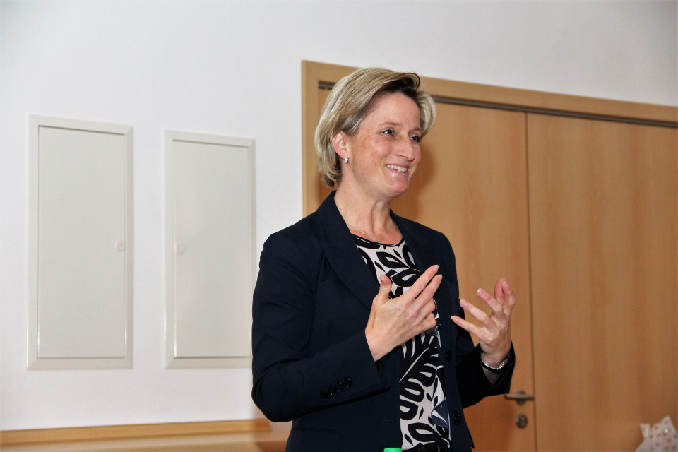 Wirtschaftsministerin Nicole Hoffmeister-Kraut war zu Gast beim CDU-Ortsverband Bisingen